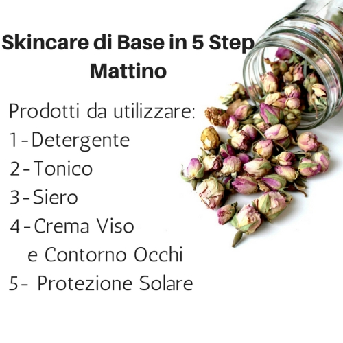 Skincare di Base in 5 StepMattino