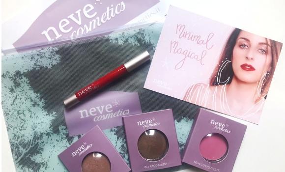 Minimal Magical, Swatches della nuova collezione makeup di NeveCosmetics.