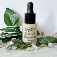 Fondotinta Sublime Drop Foundation puroBio Cosmetics | La mia recensione.
